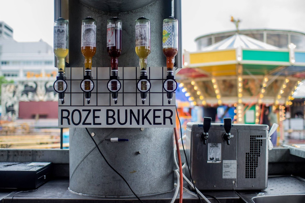 Roze bunker therockgroup