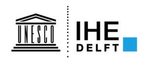 UNESCO sign IHE Delft logo